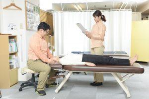三鷹市のカイロプラクティック 腰痛施術